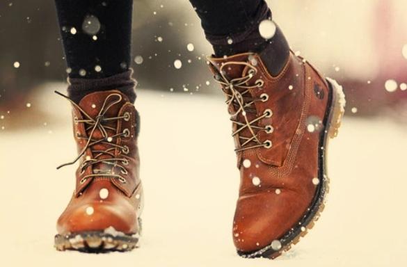 Обувь зимой